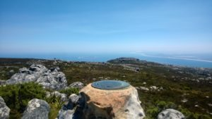 Table Mountain's Highest Point